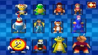 Diddy Kong Racing DS - All Characters