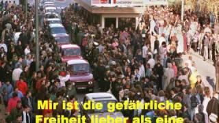 Freiheit Mauerfall 9.11.1989