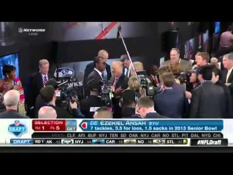 "Cheap NFL Jerseys Sale - NFL Draft 2013: Detroit Lions take Ezekiel ""Ziggy"" Ansah No. 5 ..."