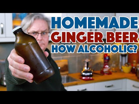 How Much Alcohol Is In Naturally Carbonated Ginger Beer