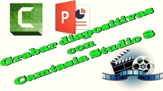 ★ Camtasia Studio 8 | Como Grabar diapositivas o presentacion de power point