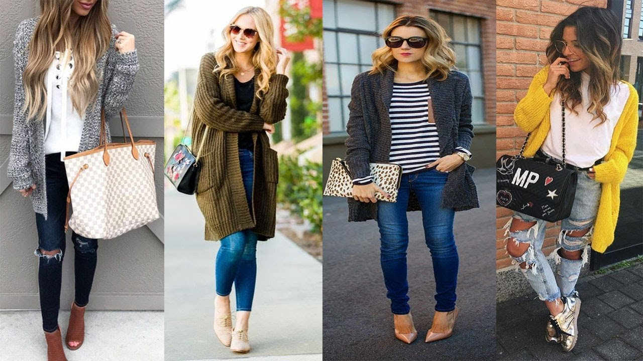 Style Winter Long Cardigan Outfit Ideas 17