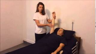 Provide resident with passive range of motion ROM exercises to one shoulder