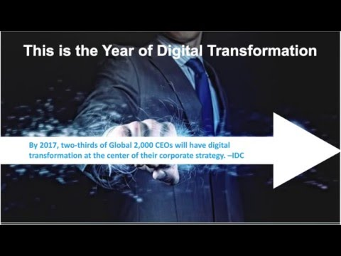 2016 is the Year of Digital Innovation   Best Practices for Becoming a Digital Transformation Vision