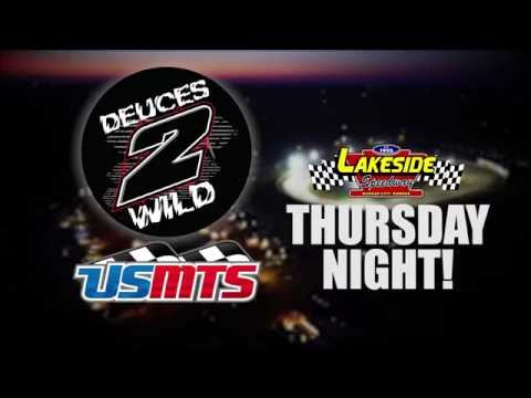 """Dueces Wild"" 9/29/16 at Lakeside Speedway"