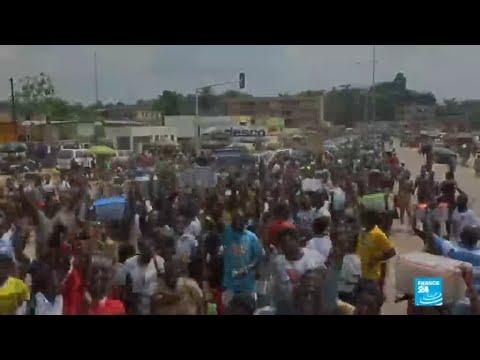 Scènes de liesse au retour de six anciens ministres de Laurent Gbagbo