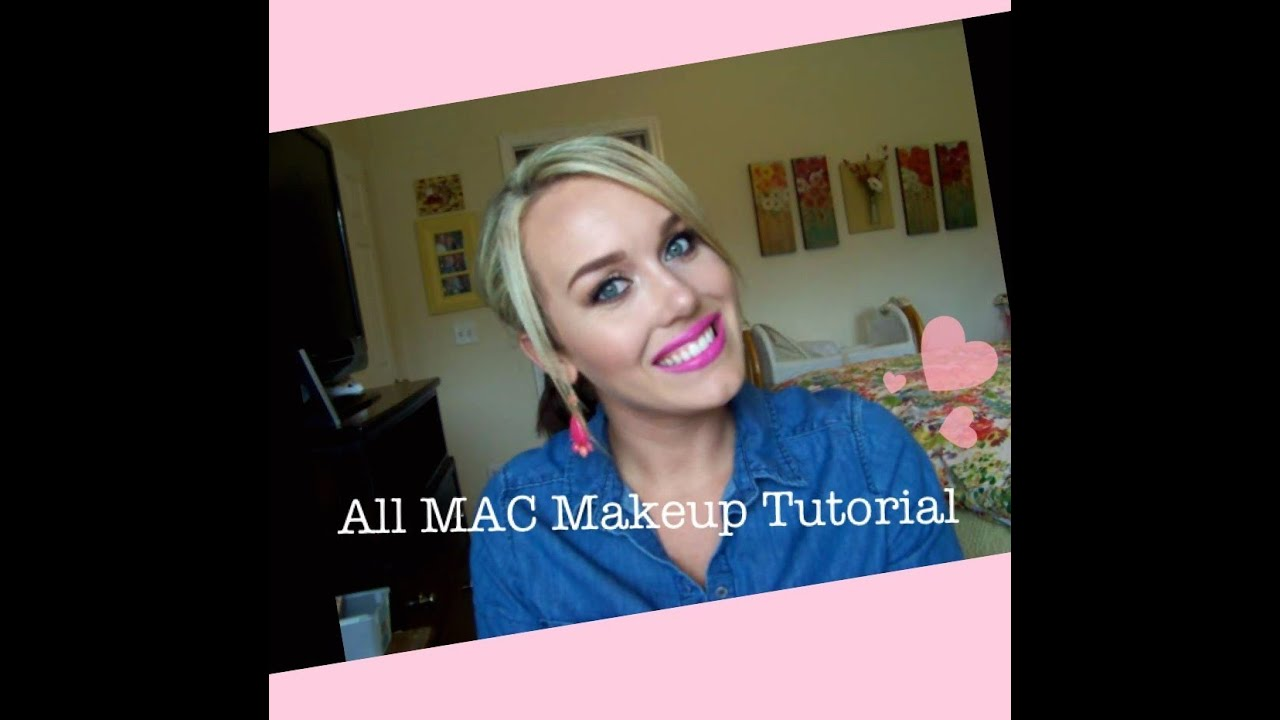 All mac full face makeup tutorial youtube all mac full face makeup tutorial baditri Gallery
