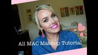 All MAC Full Face Makeup Tutorial Thumbnail