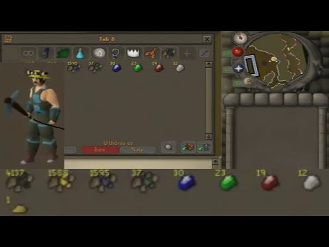 Old School Runescape Lets Play -[Episode 42]- Prospector's gear loot video