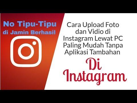Cara Upload Foto/Video di Instagram Lewat Laptop/PC Video tutorial hari ini singkat aja, buat kalian.