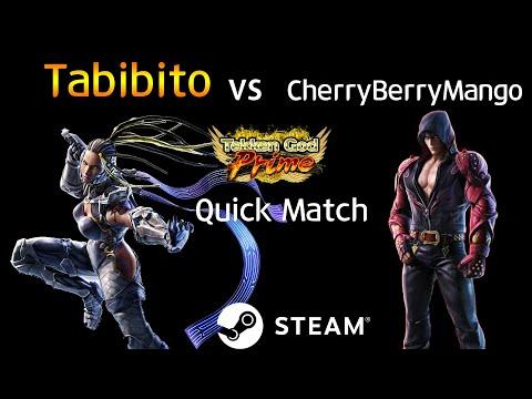 -Quick Match- 타비비토 (Master Raven) Vs 체리베리망고 (Jin) (TEKKEN 7 - Tabibito Vs CherryBerryMango)