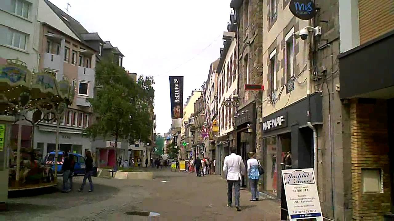 saint brieuc in brittany france youtube. Black Bedroom Furniture Sets. Home Design Ideas
