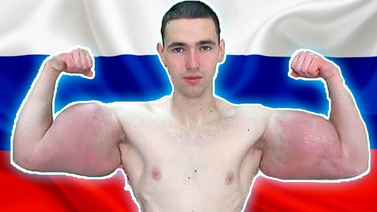 THE MOST RIPPED MAN IN RUSSIA - YouTube
