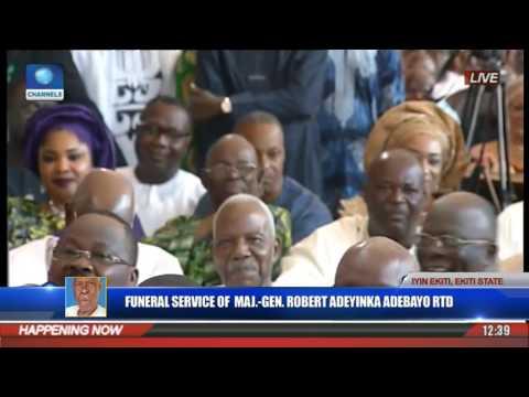 Funeral Service Of Major Gen Robert Adeyinka Adebayo Rtd Pt 8