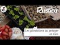 Les plantations au potager en mars