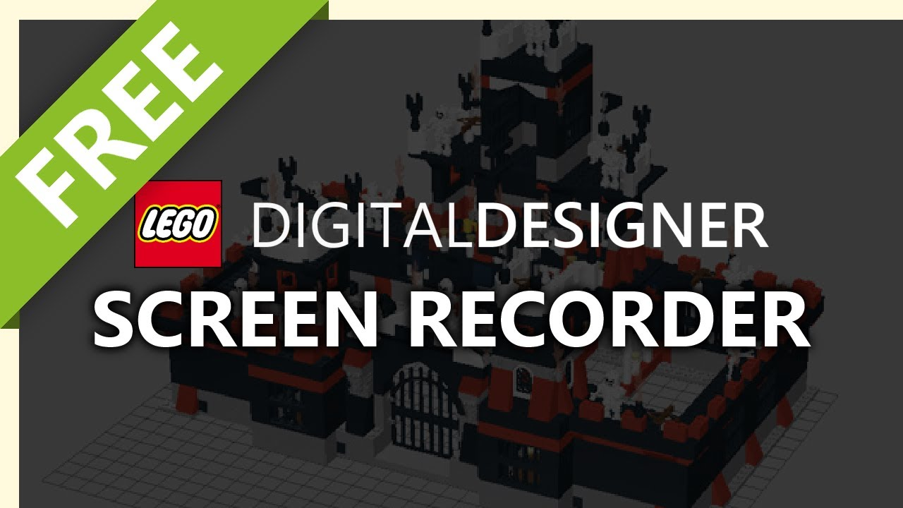 LEGO Digital Designer: Screen Recording for YouTube