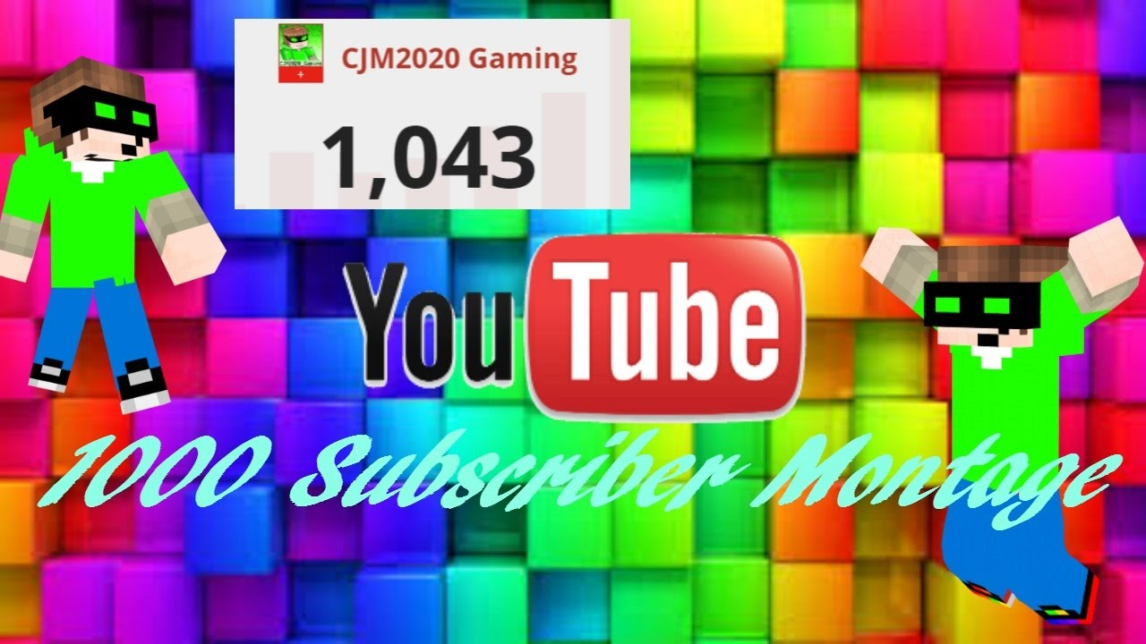 1000 subscribers special thank you all 1of4 7