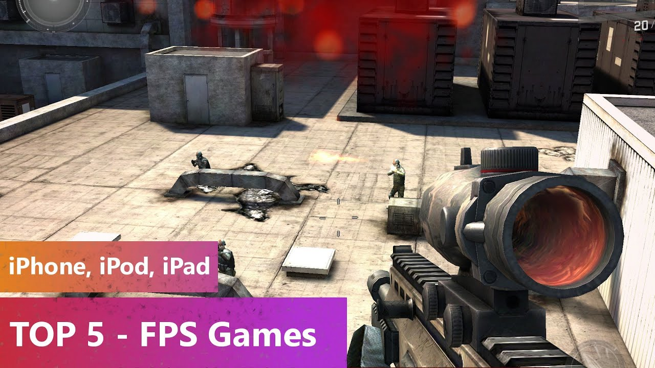 best multiplayer iphone games top 5 fps 2014 iphone ipod 13639