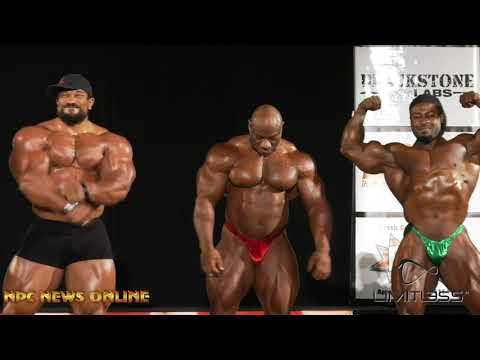 2019 IFBB Pittsburgh Pro: IFBB Pro Bodybuilding Guest Posers