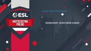 AVEZ vs ADWOKACIK | ESL Mistrzostwa Polski Jesień 2019 | Finał zamkniętych kwalifikacji (LB)