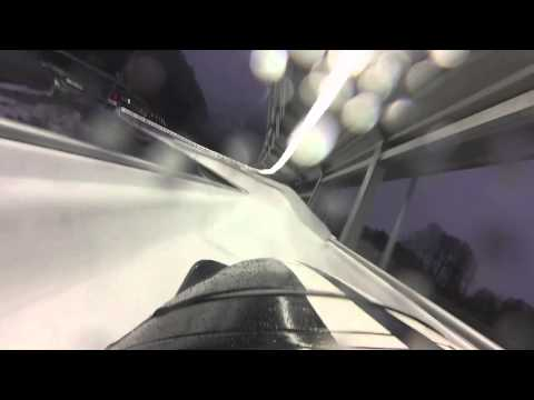 Bobsled first person view