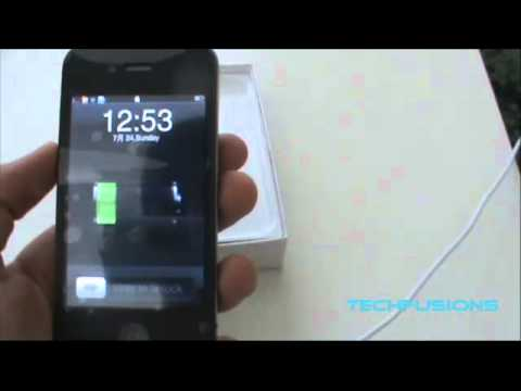Gooapple 3G - Unboxing ( 1:1 iPhone 4 Replica with Android OS)