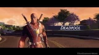 Marvel Ultimate Alliance 2 - Cable VS Deadpool  (PS4)