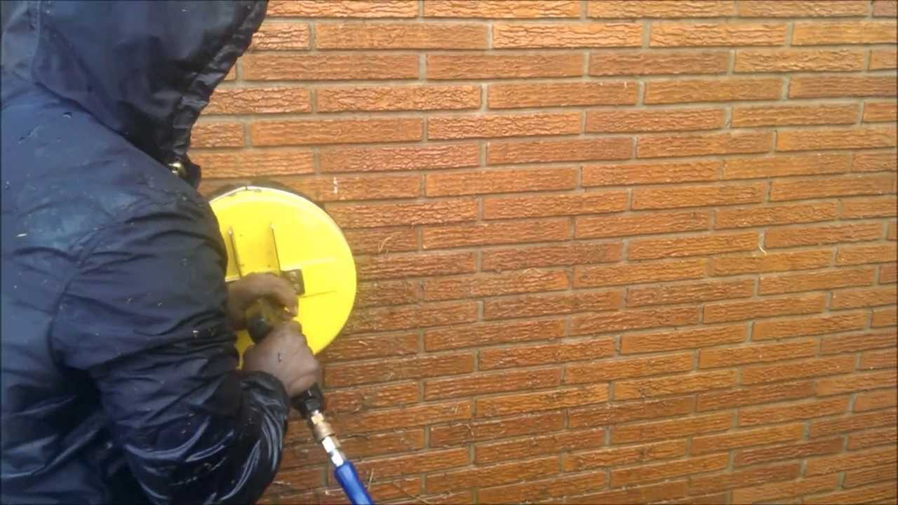 Pressure Washer Gun >> Remove Ivy Roots from Brick with 1 simple tool - YouTube