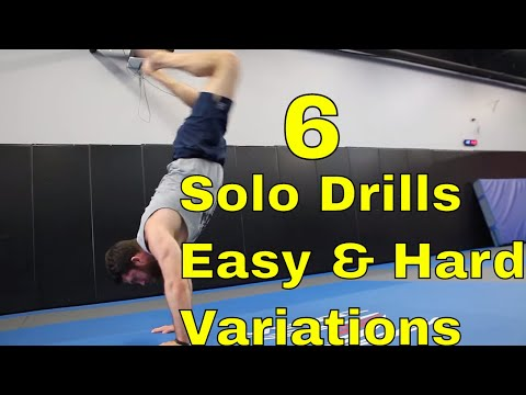 6 BJJ Solo Drills For Hip Movement & Guard Passing (New Students Lack This)