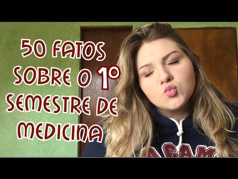 50 FATOS SOBRE O 1° SEMESTRE DE MEDICINA