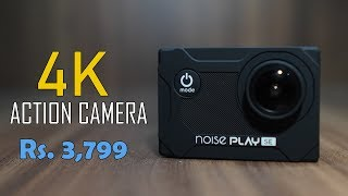 Noise Play SE Unboxing - 4K Action Camera with remote for Rs. 3,799 (approx)