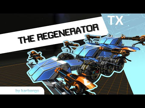 Robocraft megabot showcase - The Regenerator by karbengo ...