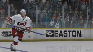 NHL 2K7 PlayStation 3 Gameplay - Swooooooosh!