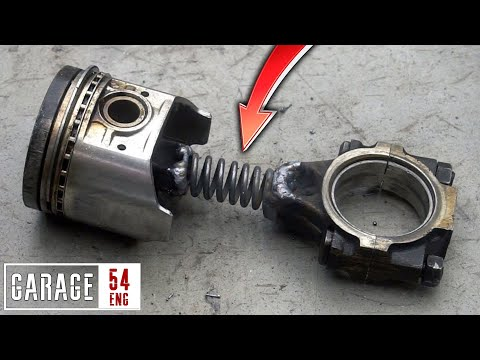 Spring mod for piston rod – will it work?