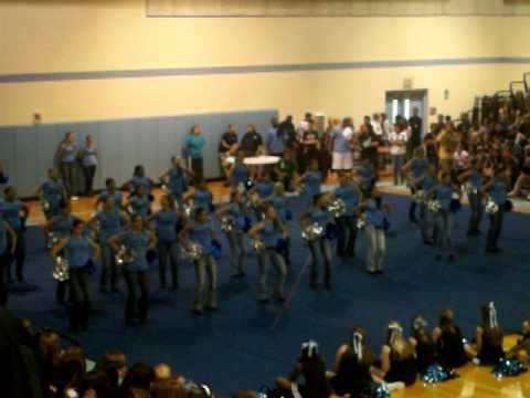NCT Dance Team at NCT's first Pep Rally of 2009/20120