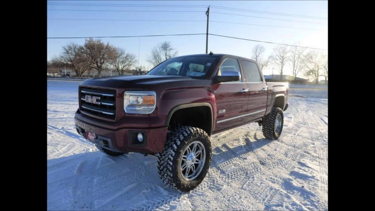Lifted Jeeps For Sale >> 2014 Lifted GMC Sierra 1500 Crew Cab Short Box 4WD SLT - YouTube