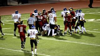 2013 High School Varsity Football Highlights Garey vs Ontario