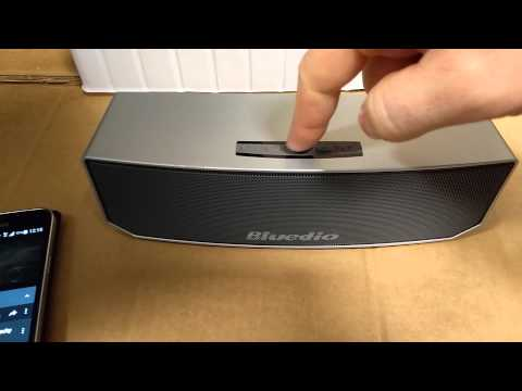 Bluedio BS-3 bluetooth speaker, Unboxing and Review