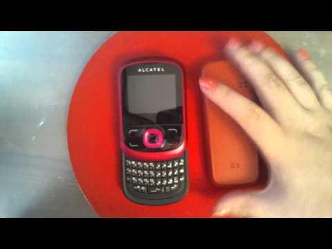 Внешний вид телефона Alcatel One Touch 595D