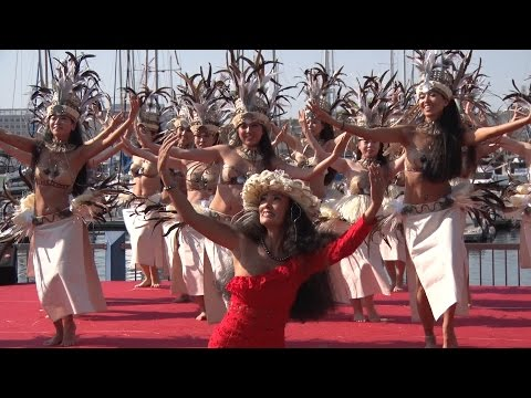 TAURUA Polynesian Dance  -  Tokyo Yumenoshima Marina HAWAII & TAHITI FESTIVAL 2016