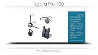 Jabra Pro 920 Product Overview