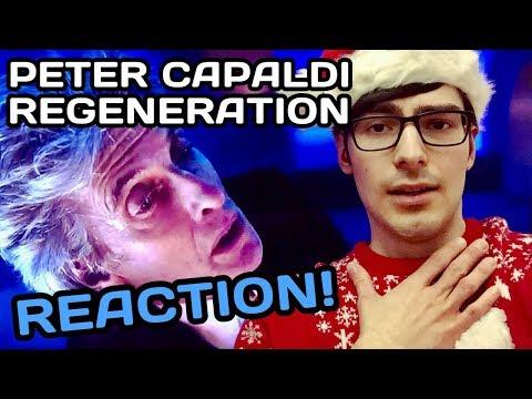 Peter Capaldi's Regeneration to Jodie Whittaker REACTION - Twelfth Doctor Regenerates (Doctor Who)