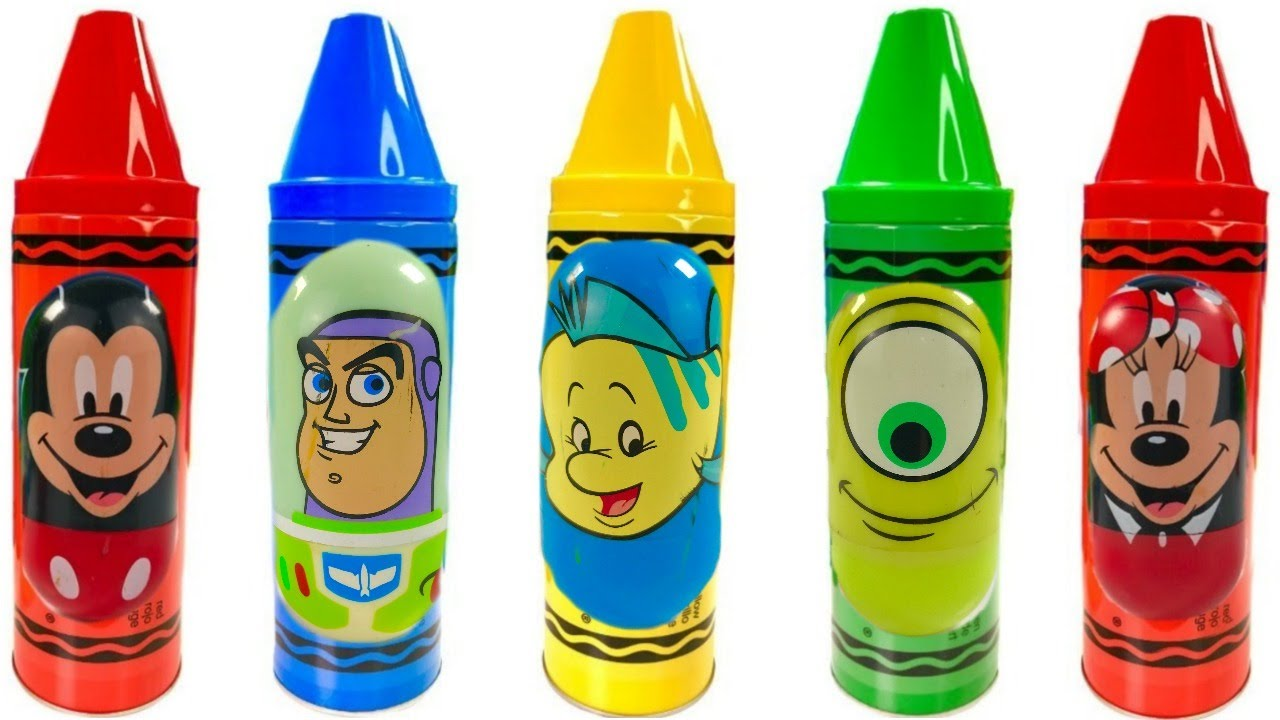 Fun Colors with Mickey Mouse Paw Patrol Disney Crayons #1