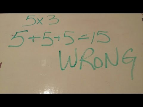 Why is 5+5+5=15 Wrong on Common Core Test