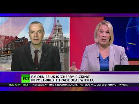 May denies that the UK's 'cherry-picking' in post Brexit EU trade deal