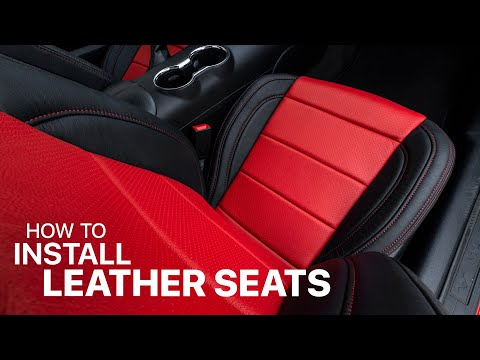 How To DIY Install Custom Leather Seats In Ford S550 Mustang – LeatherSeats.com
