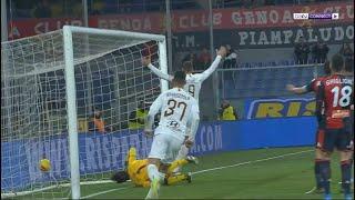 جنوى 1-3 روما | روما يدك شباك جنوى بثلاثية | الدوري الإيطالي | الجولة 20