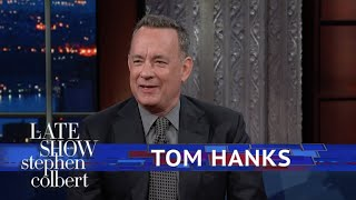 Tom Hanks Discusses