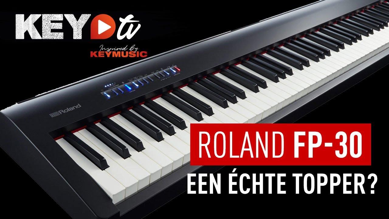 Roland Fp 30 Bk Digital Piano Keymusic