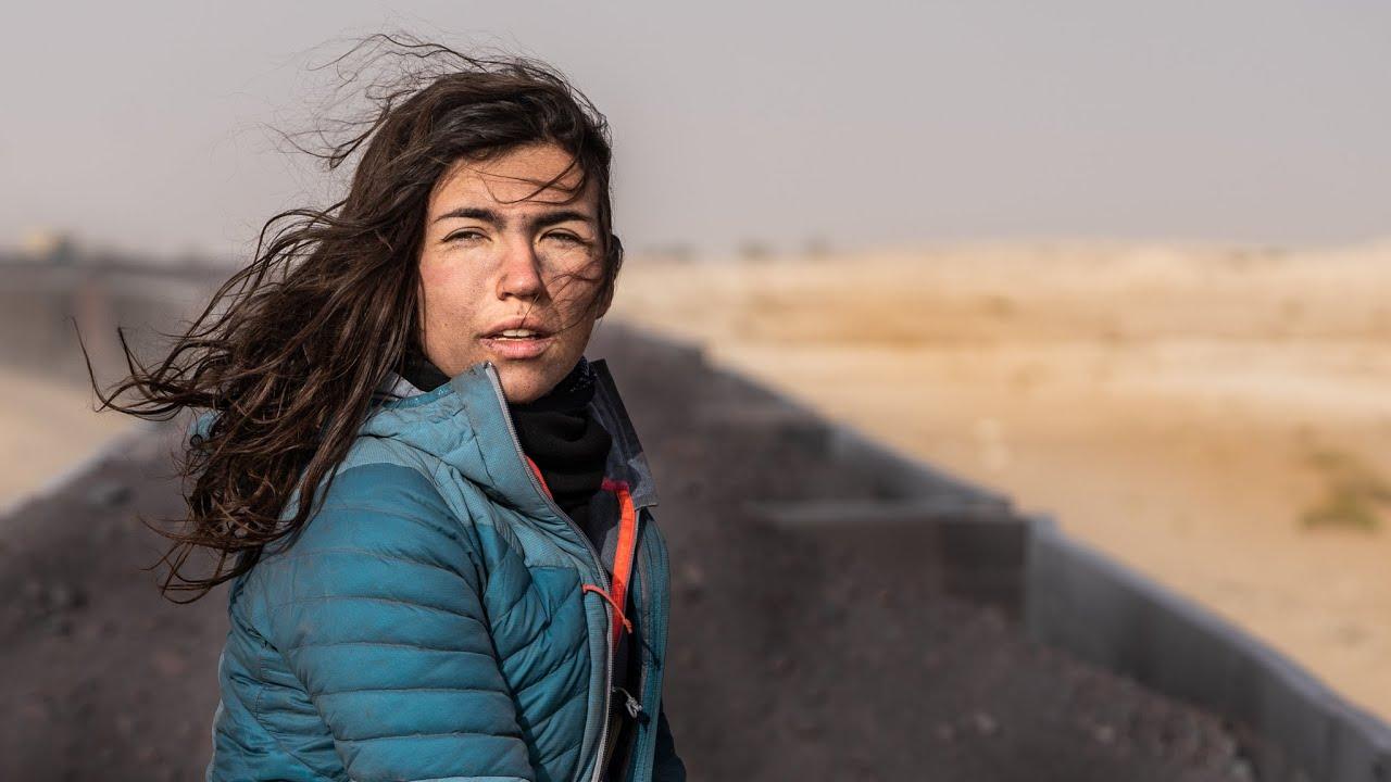 24 Hours on a CARGO TRAIN in the Sahara Desert